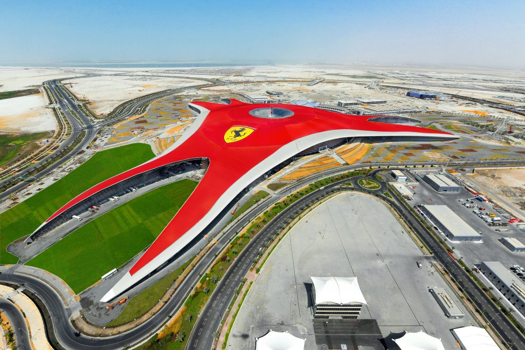 3 Ferrari World